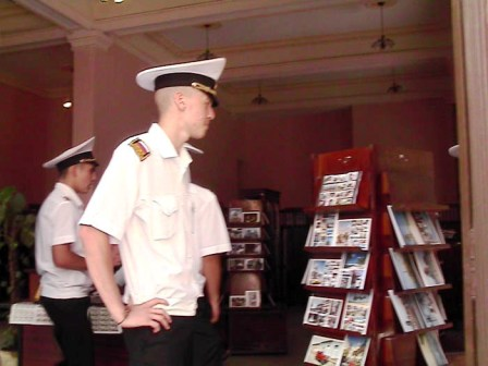 Russian School-Ship Visits in Cuba