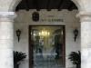 Main entrance to the Santa Isabel Hotel.