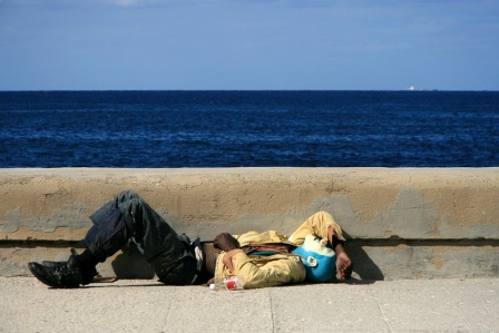 Street Sleeper. Photo by Marco Petrovic