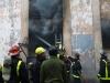 Fire at the Picadura de Cigarros Segundo Quincosa factory in Centro Habana. 7-1-2015