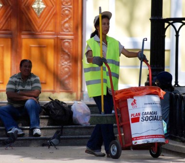 Street Cleaning Worker