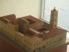 016-jpg Maqueta del convento de San Juan de Letrán, donde fue fundada la Real y Pontificia Universidad de La Habana.