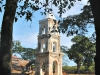 """2-A high tower(""""mirador"""") was built in the sugar-producing """"haciendas"""" (estates) to watch the slaves and check on any attempt of escape."""