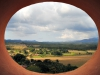 """13-A view onto the Valley from the """"mirador""""."""