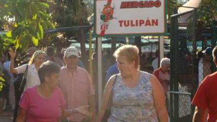 Tulipan Market in Havana