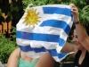 """The Uruguayan """"murga"""" group Agarrate Catalina.  Photo: Elio Delgado"""