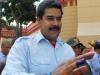 Nicolas Maduro after voting.