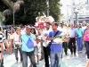 Industriales fans funeral for Villa Clara.