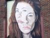 Art work in Deep Ellum, Dallas