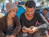 Young Honduran couple
