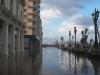 El mar invade a La Habana