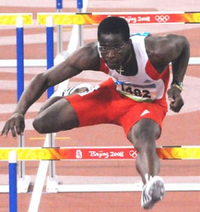 Dayron Robles won a gold medal in Beijing