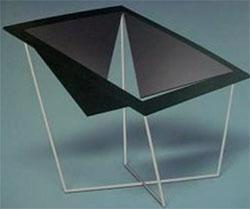 Miguel Garces Noguera. Geometry illustrating virility. Metal Structure