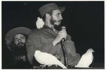 Fidel Castro on January 8, 1959
