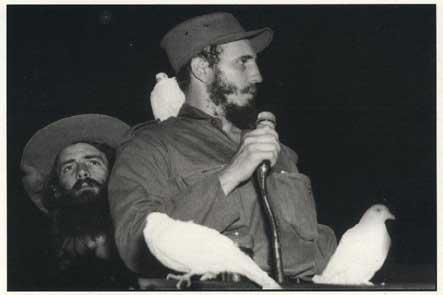 Fidel Castro on January 8, 1959