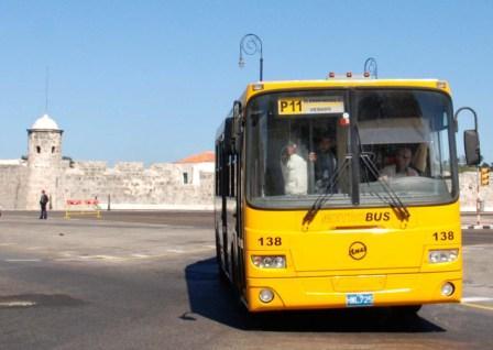 Alamar's P-11 Bus. photo: Irina Echarry