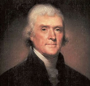 """Jefferson: """"Nothing would be more suitable"""""""