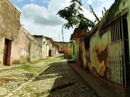 A street in Trinidad in Central Cuba. Photo: Yuri Montano