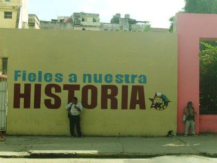 Faithful to our History. Photo: Yuri Montano