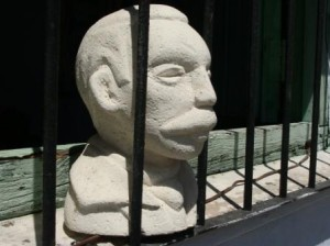 Bust of Jose Marti - photo: Ana Maria Gonzalez