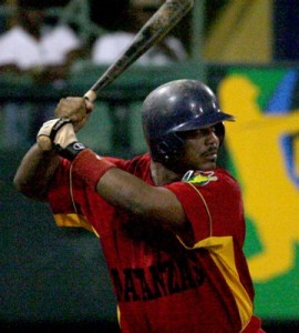 Yoandry Garlobo – Matanzas is in the fight for a playoff berth in large part do to the bat of Yoandry Garlobo who leads the league with a .405 average.