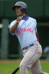 Yorelvis Charles is hitting a whopping .402 with the Eastern Division leaders Ciego de Avila.