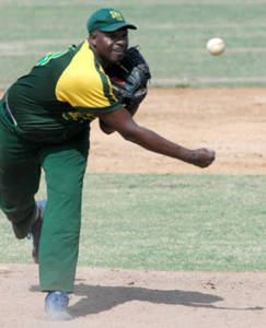 Veteran right-hander Pedro Luis Lazo went the full nine innings in the 10-5 series clincher over Sancti Spiritus.