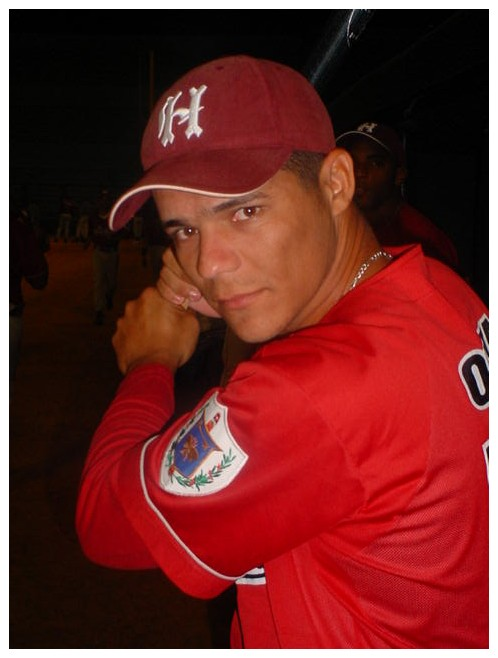 Rafael Orta, Havana's clean-up hitter that has gone an entire season without a homer.