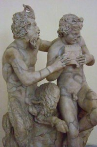 The Satyr Pan Attempts to Seduce Olympus. Photo: Mharrsh