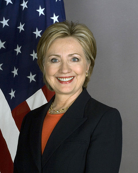 Hillary Clinton back peddles, saying the US State Department is reviewing the situation. Photo: Wikimedia Commons
