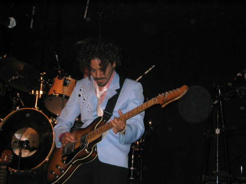 Ruben Albarran of the rock band Café Tacuba.