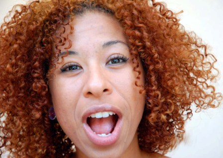 Cuban actress Idalmis Garcia