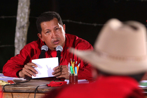 Venezuela president Hugo Chavez Frias, photo: Que Comunismo