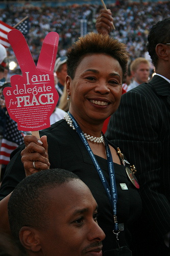 California congresswoman Barbara Lee said a coup is a coup is a coup. Photo: Youth Radio
