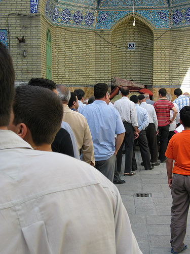 Iranians went to the polls recently to elect their president. Photo:bbcworldservice