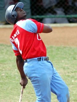 Adonis Garcia led the tournament's batters with a .500 average with 15 hits in 30 at-bats.