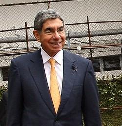 Costa Rica's president Oscar Arias, Photo: Agencia Brasil