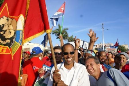 Cuban Workers, photo: Elio Delgado