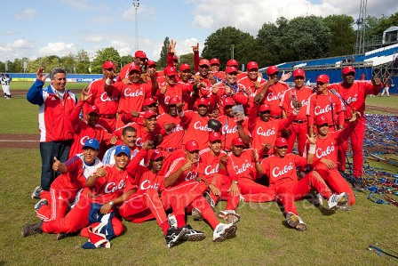 Cuba's 2009 World Port Baseball Championship Team