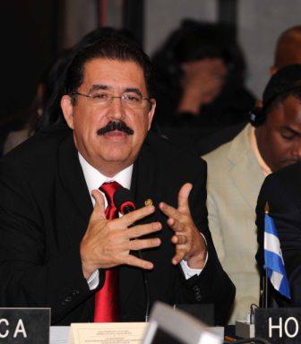 Deposed Honduran President Manuel Zelaya, photo: Patricia Leiva - GS/OAS