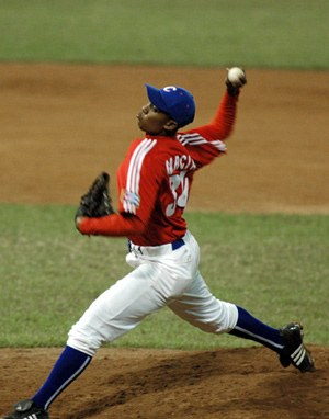 Freddy Asiel Alvarez allowed only three hits and one run over six innings.
