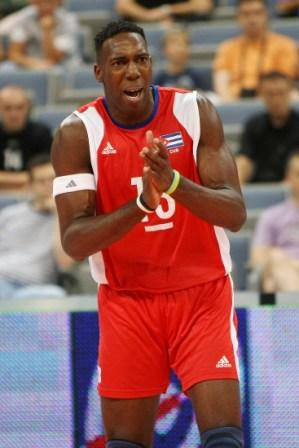 Robertlandy Simon finished fifth in scoring with 50 points and second in blocks. Photo: FIVB