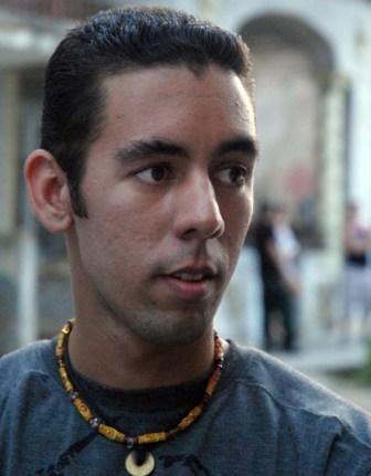 Wismer Torres of the Cuban band Quantum