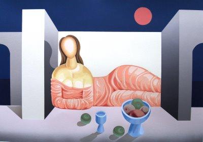 Mario Carreño, Woman at Sunset