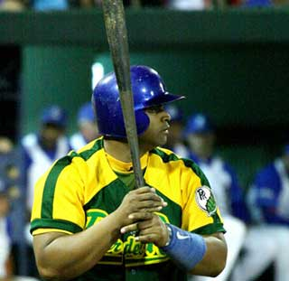 Yosvany Peraza is a reserve catcher and possible DH for Team Cuba.