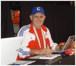 Cuban baseball expert Peter C. Bjarkman at the World Baseball Classic II last March.
