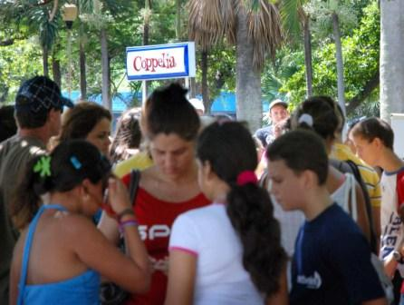 Coppelia Ice Cream parlor in Havana