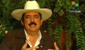 Manuel Zelaya, photo: Telesur