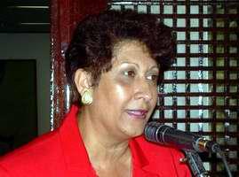 Cuba's Education Minister Ena Elsa Velásquez