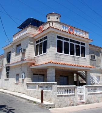 House in the Havana suburb of Cojimar.  Photo: Caridad